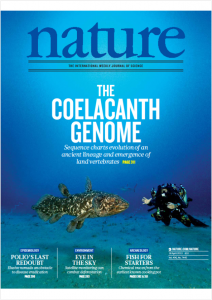 Cover nature coelacant