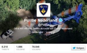 Politie twitter